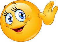 female emoticon waving hello vector 1479147 1 1