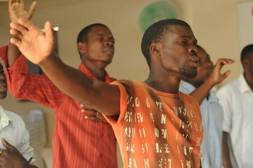 God's pleasure and Man's surrender by Ndubuisi Okafor